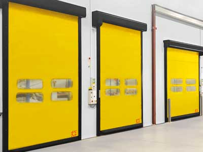 flexible industrial doors