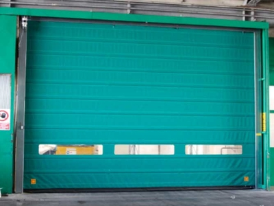 fold up high speed doors smart pocket