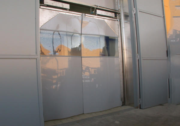 flexible swing doors uk