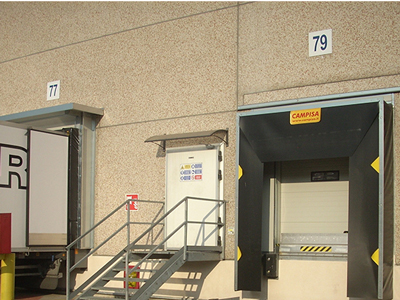 numbering of loading bays