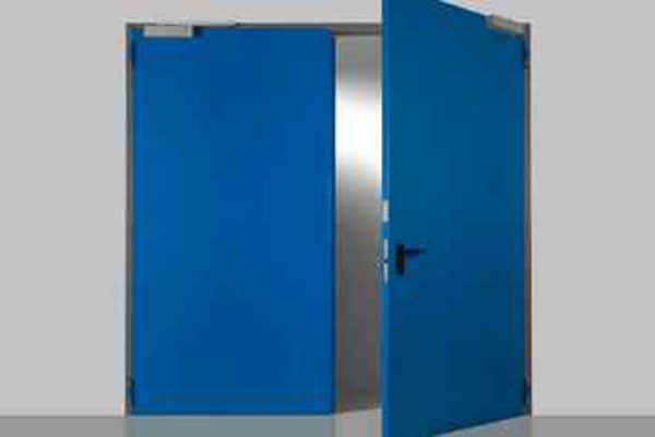 DOUBLE LEAVES FIRE RETARDANT DOORS