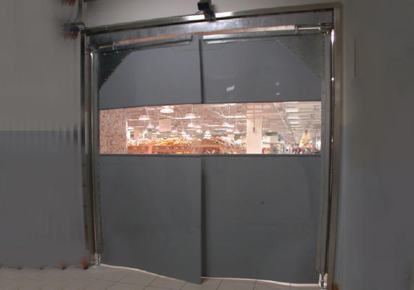 flexible hinged rapid doors uk