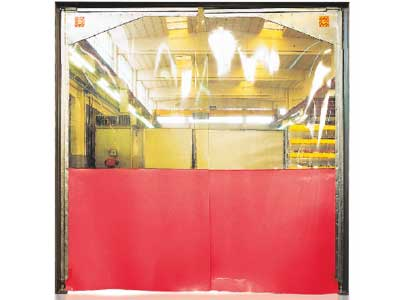 side hinged rapid doors UK
